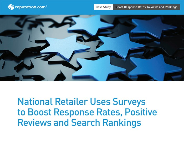 National Retailer Uses Surveys to Boost Response Rates, Positive Reviews and Search Rankings