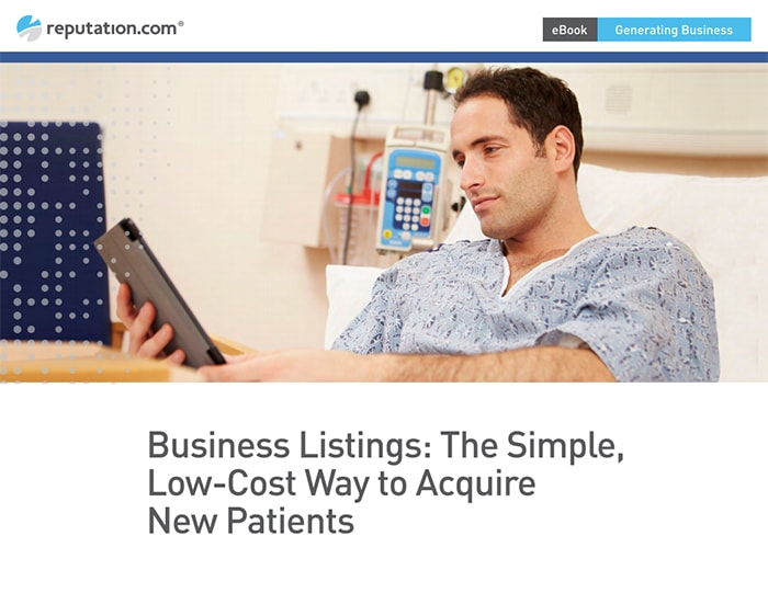 Business Listings: The Simple, Low-Cost Way to Acquire New Patients