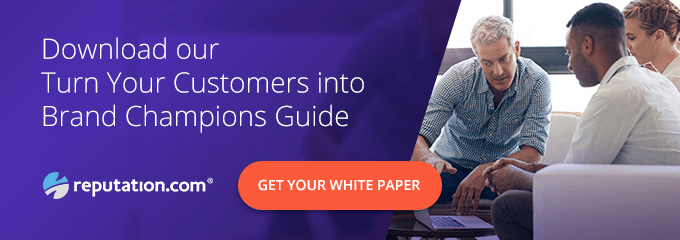 Turn your customers into brand champions.