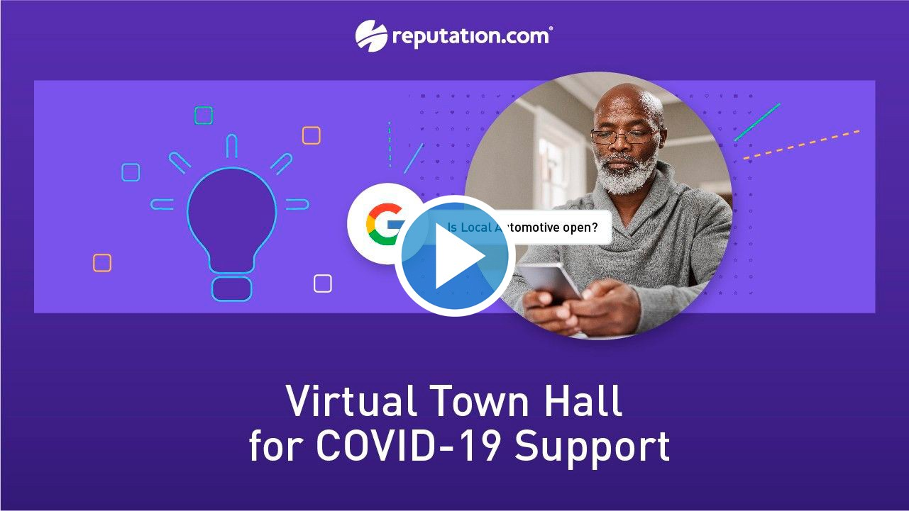resources webinar virtual town - Secrets from Google and Auto Leaders to Drive Dealership Visits (Plus COVID-19 Tips)