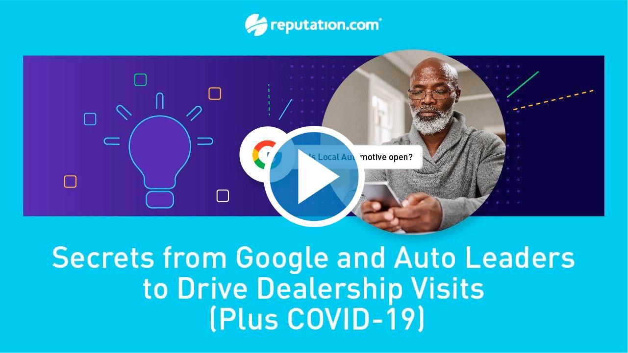 resources webinar 2 secrets - COVID-19 Town Hall for Automotive