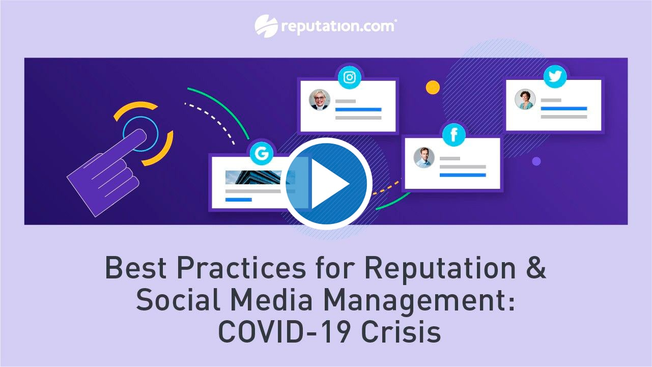 resources webinar best practices for reputation - Best Practices for Reputation & Social Media Management: COVID-19 Crisis