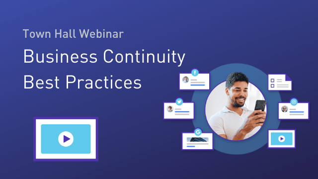 Business Continuity Best Practices - COVID-19 (GB)